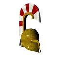 greek helmet 2 poster