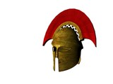 ancient greek helmet 7 poster
