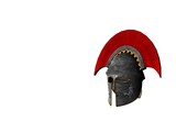 ancient greek helmet 8 poster