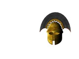 ancient greek helmet 11 poster