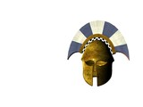 ancient greek helmet 13 poster