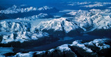 alaska range from the air