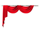 Fototapety curtain