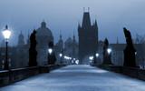charles bridge, (blue) prague-