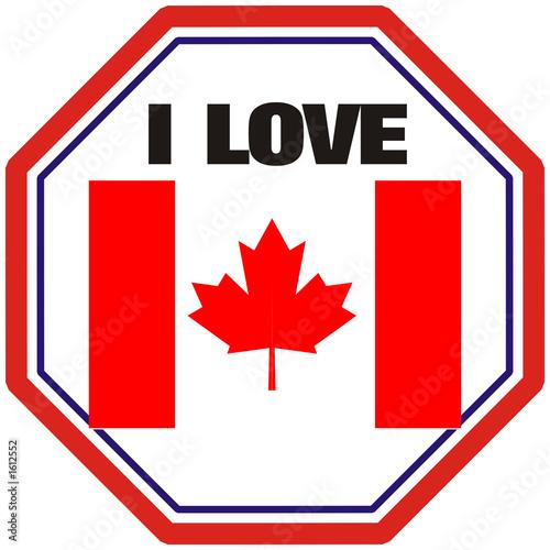 i love canada,