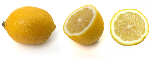 tropical fruits: lemon