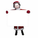 mrs claus sign 1 poster