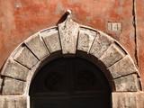 rome - italian architecture detail poster