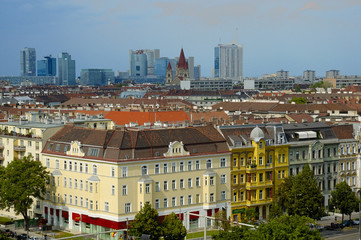 vienna general view from the prater