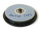 box with cd - backup copy poster