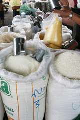 dried manioc flour