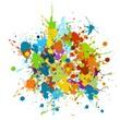 grunge, abstract, art, artistic, color, splash, co