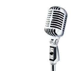 professional ''retro'' microphone