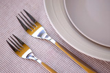 plates and cutlery poster