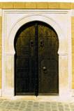 brown arabian door poster