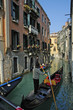 gondolier with striped shirt