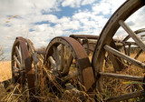 rustic wagon wheels 2 poster