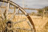 rustic wagon wheel poster