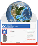 express delivery-earth poster