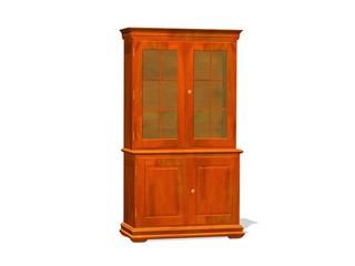 meuble vitrine en bois