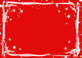 stars and stripes background red poster