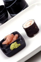 food - sushi meal