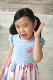 girl surprised & shocked