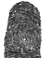finger print - very detailed
