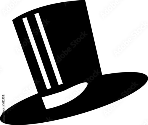 elegant top hat