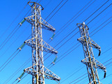 high-voltage line poster