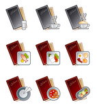 design elements 47d. menu icons set poster