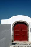 island greece door poster