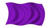 lila fahne purple flag poster