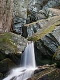 raven cliffs waterfall poster
