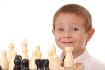 chess boy four