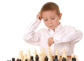 chess boy five