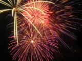 fireworks triple burst poster