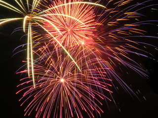 fireworks triple burst