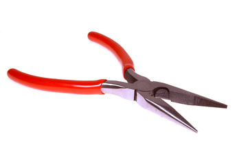 long nose pliers isolated