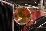 antique automobile light poster