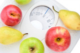 eat healthy food and loose weight poster