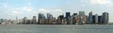 manhattan skyline, new york city poster