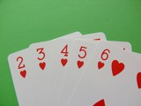 hearts poker poster