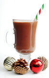 festive hot chocolate poster