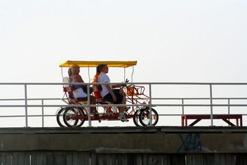 pedal on the boardwalk 2