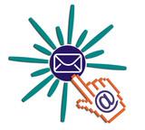 e-mail buton poster