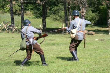 fight between two soldiers ii