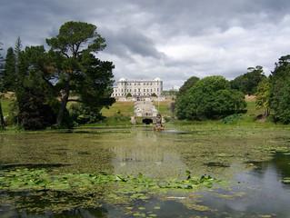 powerscourt gardens, palladian house