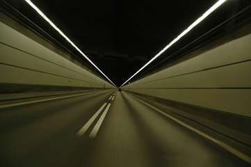 speeding in tunnel
