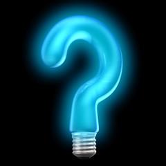 question bulb